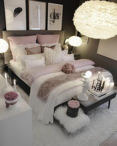 dream rooms for adults ; dream rooms for women ; dream rooms for couples ; dream rooms for adults bedrooms ; dream rooms for girls teenagers Cozy Bedroom, Bedroom Inspo, Bedroom Inspiration, Bedroom Size, Bedroom Setup, Bedroom Apartment, Bedroom Decor Elegant, Apartment Ideas, Apartment Interior