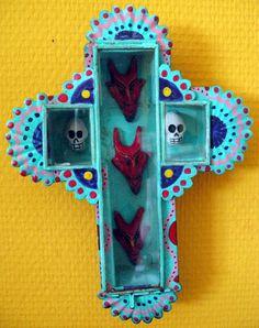 Mexican tin art - Bel's Nook Art Blog