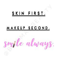"""Skincare | Makeup | Smiling If you're not doing all 3, i can help with that ♀️"" Website: Bowman-Beauty.com  Shop the Look: SeneGence.com/BowmanBeauty #BowmanBeauty"