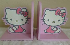 Hello Kitty Book Ends Bedroom Decor