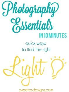 Photography Essentials- Light
