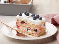 Get Berry Dessert Lasagna Recipe from Food Network