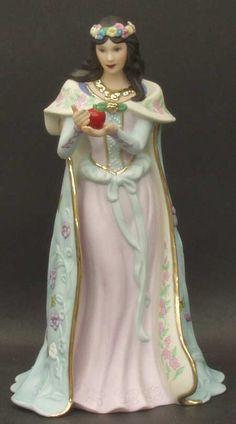 lenox figurines   Lenox LEGENDARY PRINCESSES FIGURINE Snow White 1989