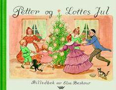 Peter and Lotta& Christmas by Elsa Beskow Elsa Beskow, Scandinavian Christmas Trees, Swedish Christmas, Christmas Books, Christmas Cards, Best Children Books, Childrens Books, Lotta, Cicely Mary Barker