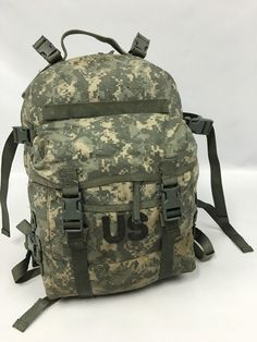 Good US Army MOLLE 2 Assault Pack ACU Digital Camo | Military ...