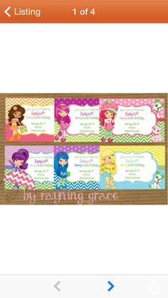 Cute character color combos for food tent cards  sc 1 st  Pinterest & Strawberry Shortcake Tent Cards Instant Download | Tents