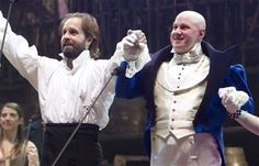 Alfie Boe and Matt Lucas, Les Mis 25 at the O2. This was AMAZING live <3