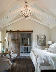19 Modern Rustic Farmhouse Master Bedroom Ideas