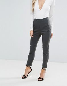 ASOS Petite | ASOS PETITE - Pantalon skinny taille haute