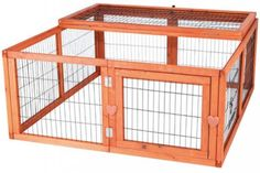 Outdoor Rabbit Run Pen Mesh Cover Guinea Pig Bunny Easter Cage Exercise Pet Play #TrixiePetProducts
