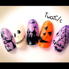 実は楽しみにしちゃってます…♡ひかえめハロウィンネイルカタログ MERY [メリー] Seasonal Nails, Nails For Kids, Halloween Nail Art, Nail Colors, Nail Art Designs, Gel Nails, My Favorite Things, Nail Ideas, Fingers