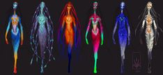 Catwalk-Alien Colour-Roughs by Nicksketch on deviantART