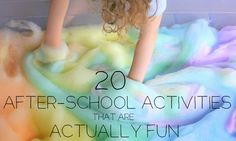 20 After-School Activities That Are Actually Fun (via BuzzFeed)