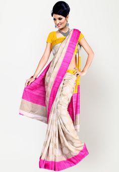 Aashima Printed Pink Saree - Buy Women Sarees Online | AA154WA99JAYINDFAS