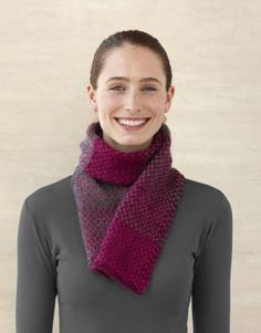 Berry Sparkle Scarf