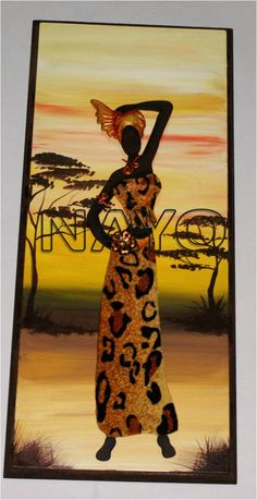 NAYO. Black Women Art, Black Art, African Quilts, African Art Paintings, African Royalty, African Dolls, Arte Country, Art Africain, Africa Art