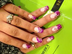 I think this's awesome  nails dedigns made by Aleah