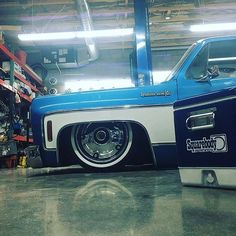 Hot Wheels - Bad ass shot of @squarebodysyndicate laid out and looking good via @hubcapsphx , so sweet! #chevrolet #gmc #c10 #airsuspension #bagged #streetrod #streetmachine #hotrod #layframe #accuair #raked #stance #lowfastfamous