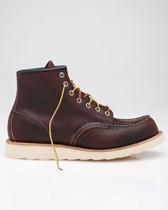 red wing boots. Dark red. These are the ones.