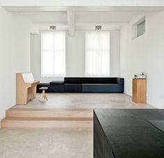 Toppunt van minimalisme in een Duits appartement - Roomed | roomed.nl
