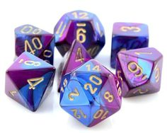fuh-HABULOUS dice. Yes, the f is supposed to look like that.