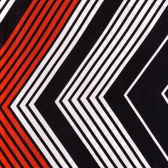 Fabric | Red White And Black Striped Modern Fabric by theRasilisk on Etsy
