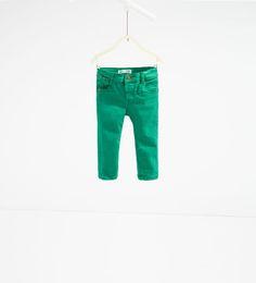 5-pocket broek-BROEKEN-Baby jongen | 3 maanden - 3 jaar-KINDEREN | ZARA Nederland