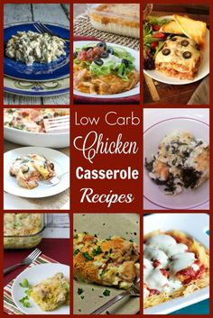 Low Carb Chicken Casserole Recipes Casseroles are nice comforting meals that are usually pretty easy to put together. Here's a collection of 18 low carb chicken casserole recipes to try. Banting Recipes, Paleo Recipes, Low Carb Recipes, Turkey Recipes, Free Recipes, Dinner Recipes, Low Carb Chicken Casserole, Low Carb Chicken Recipes, Pork Casserole