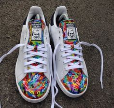 Mattbcustoms on Instagram delivered a beautiful custom Stan smith.