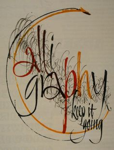 calligraphy: hand-lettering trumps computer-generated ANY day Calligraphy Words, Calligraphy Alphabet, Typography Letters, Handwritten Letters, Penmanship, Alphabet Art, Letter Art, Creative Lettering, Lettering Design