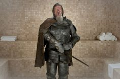 The Scorched Knight urges you to complete your quest with dignity, valor and other good stuff. Hear his ego-boosting wisdom in The Esteem Room.