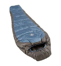 Coleman Crescent 15 Degree Sleeping Bag.  Cub Scout freezeout?