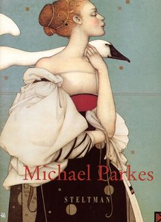 Michael Parkes….always been a favorite of mine! He has such a distinct style that taps into the Deco Period, art nouveau and Surrealist Period of my favorite artists such as Gustav Klimt, Sir Lawrence Alma Tadema and Alphonso Mucha….love all of them!!