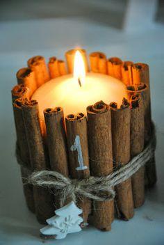 cannella e candele!!