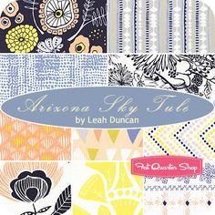 Arizona Sky Tule Fat Quarter Bundle Leah Duncan for Art Gallery Fabrics - Fat Quarter Shop