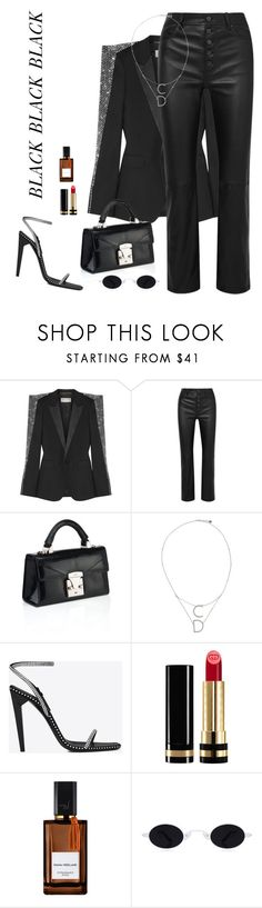 """""""Untitled #1136"""" by andressabrandao1 ❤ liked on Polyvore featuring Yves Saint Laurent, Joseph, Christian Dior, Gucci and Diana Vreeland"""
