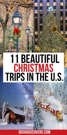 USA Christmas Destinations: 11 of the Best Holiday Getaways in America | Christmas travel destinations USA | Christmas trips USA | Christmas town USA | Christmas travel USA | USA Christmas towns | Christmas getaway USA | Christmas vacation destinations | best christmas vacation destinations | best christmas vacation destinations in the us | christmas vacation destinations usa | christmas vacation destinations united states | christmas vacation destinations ideas | christmas getaway ideas Christmas Destinations, Us Travel Destinations, Best Places To Travel, Christmas Travel, Holiday Travel, Holiday Fun, Holiday Decor, Travel Usa, Travel Tips