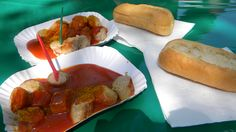 I would walk back to Berlin for this Currywurst!