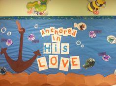Cute ocean board by the wonderful Miss Kim