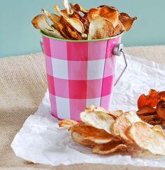 Baked Homemade Potato Chips