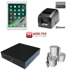 MobiPOS compatible point of sale hardware bundle for ipad. #mobipos #CafePOSSystem #ipadpos