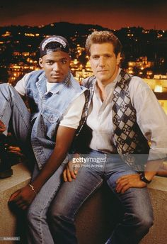"Glenn Frey (with co-actor from ""Miami Vice"")"