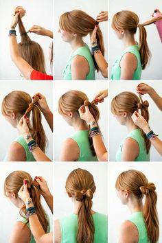 """nice 50 Идей как сделать прическу """"бант из волос"""" пошаговая инструкция"""