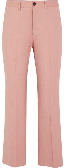 Stretch-velvet Flared Pants - Pink Miu Miu fKUKcNb8x