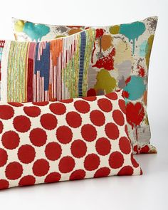 Shop Graphic Pillows from D. Kap Home at Horchow, where you'll find new lower shipping on hundreds of home furnishings and gifts. Cheap Throw Pillows, Couch Pillows, Decorative Cushions, Scatter Cushions, Home Decor Furniture, Home Furnishings, Closet Remodel, Pillow Sale, Pillow Covers