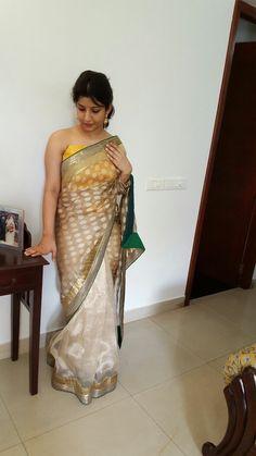 Beautiful Saree, Beautiful Indian Actress, Most Beautiful, Saree Blouse Designs, Indian Dresses, Anarkali, Indian Beauty, Sarees, Hair Beauty