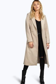 Lily Wool Duster Coat