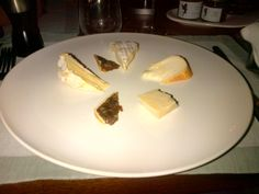 Assorted cheese specialties with traditional bread @ Restaurant Grandis
