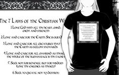 The Seven Laws of the Christian Witch | Women's T-Shirt