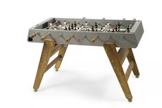 Baby-foot RS bois & inox - RS Barcelona - The Conran Shop Outdoor Games, Indoor Outdoor, Outdoor Foosball Table, Table Football, Barcelona, Wood Painting Art, Table Games, Game Tables, Game Room